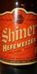 Shiner Hefeweizen