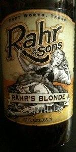 R&S - Rahr's Blonde